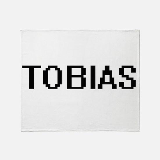 Tobias Digital Name Design Throw Blanket