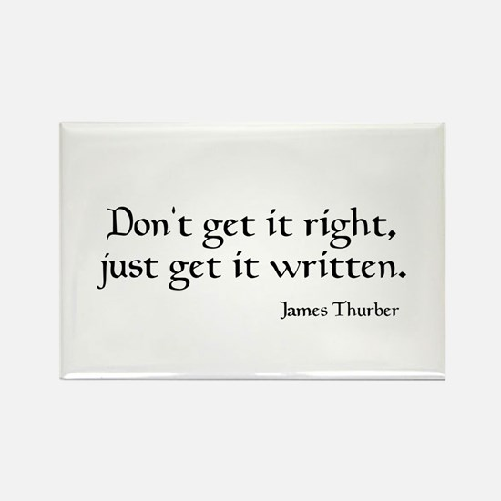 James Thurber Quote Magnets