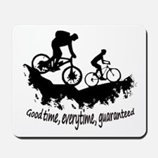 Mountain Biking Good Time Inspirational Quote Mous