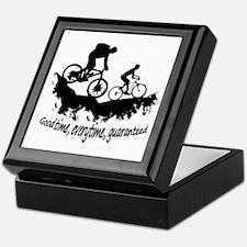 Mountain Biking Good Time Keepsake Box