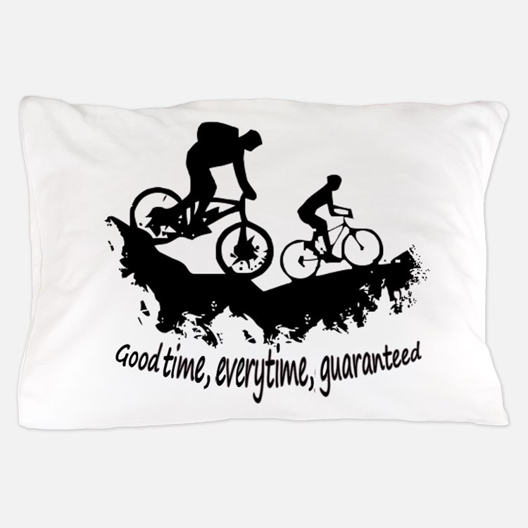 Mountain Biking Good Time Inspirational Quote Pill