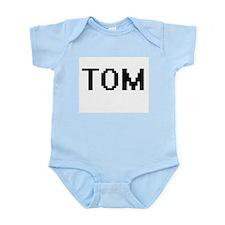 Tom Digital Name Design Body Suit