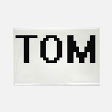 Tom Digital Name Design Magnets