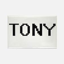 Tony Digital Name Design Magnets