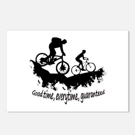 Mountain Biking Good Time Inspirational Quote Post