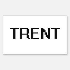 Trent Digital Name Design Decal