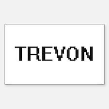 Trevon Digital Name Design Decal