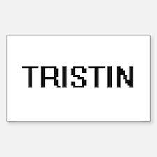 Tristin Digital Name Design Decal