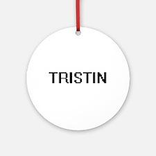 Tristin Digital Name Design Ornament (Round)