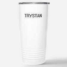 Trystan Digital Name De Stainless Steel Travel Mug