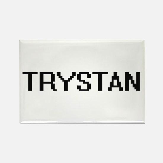 Trystan Digital Name Design Magnets