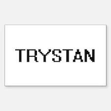 Trystan Digital Name Design Decal