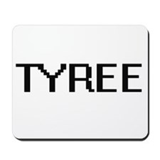 Tyree Digital Name Design Mousepad