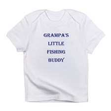 GRAMPA'S LITTLE FISHING BUDDY Infant T-Shirt