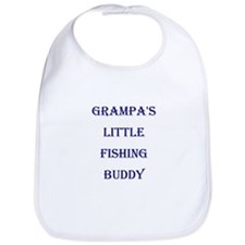 GRAMPA'S LITTLE FISHING BUDDY Bib