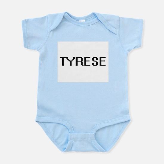 Tyrese Digital Name Design Body Suit
