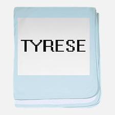 Tyrese Digital Name Design baby blanket
