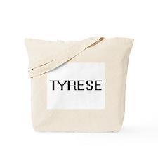 Tyrese Digital Name Design Tote Bag