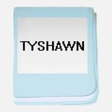 Tyshawn Digital Name Design baby blanket