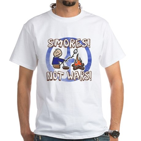 S'mores Not Wars! SMORES White T-Shirt