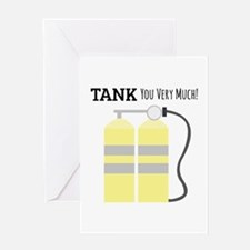 Tank You Greeting Cards