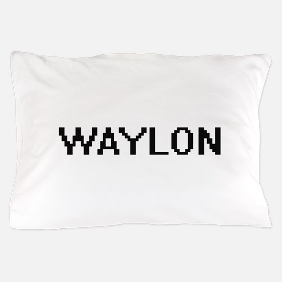 Waylon Digital Name Design Pillow Case
