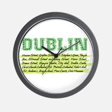 distressed places Wall Clock