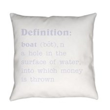 Boat Definition Everyday Pillow