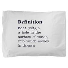 Boat Definition Pillow Sham