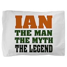Ian The Legend Pillow Sham