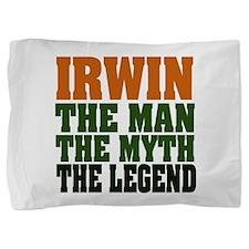 Irwin The Legend Pillow Sham