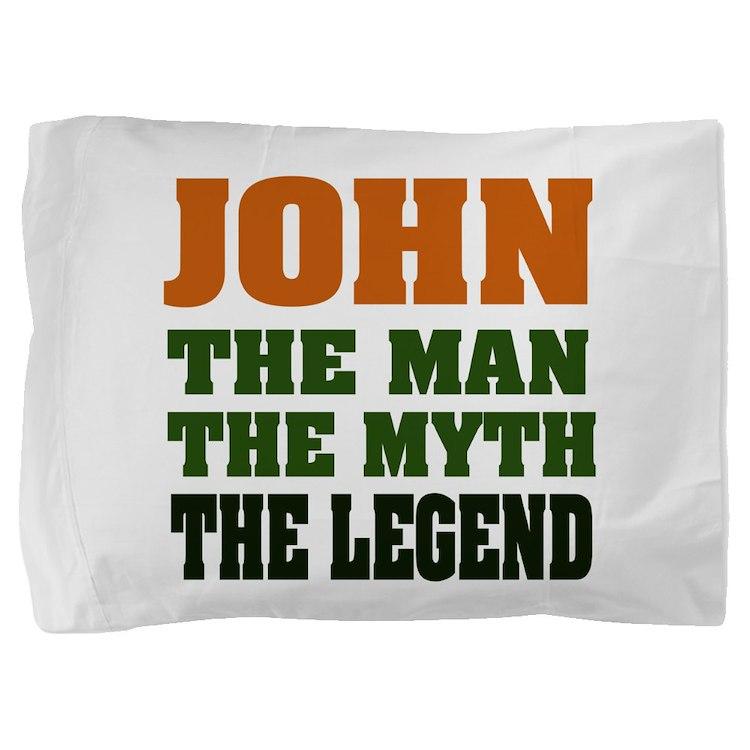 John The Legend Pillow Sham