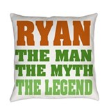 Ryan Burlap Pillows