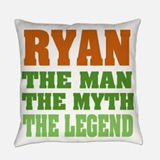 Ryan The Legend Everyday Pillow