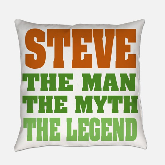 Steve The Legend Everyday Pillow