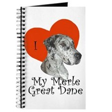 Luv My Merle Great Dane II Notepad