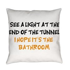 I see a Light Everyday Pillow