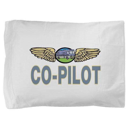 RV Co-Pilot Pillow Sham