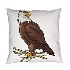 Bald Eagle Everyday Pillow