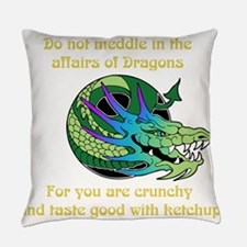 Dragon Crunchies Everyday Pillow