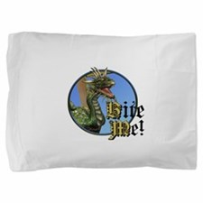 Bite Me Dragon Pillow Sham