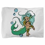 Anime Merman Pillow Sham