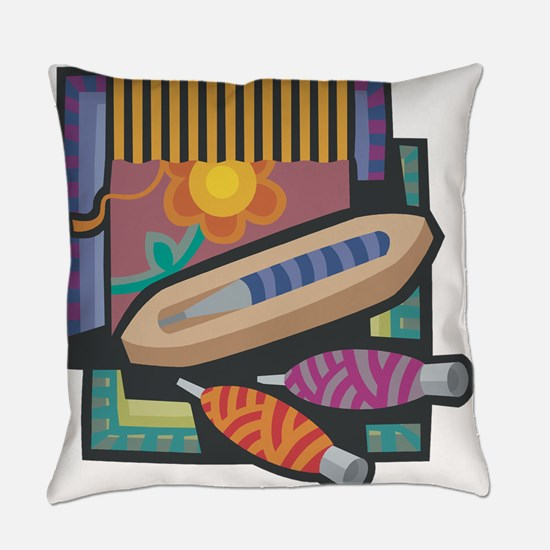 Weaving Everyday Pillow