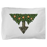 Art Nouveau Orange Tree Pillow Sham