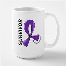 Pancreatic Cancer Survivor 12 Large Mug