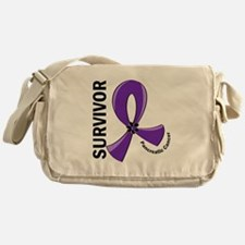 Pancreatic Cancer Survivor 12 Messenger Bag