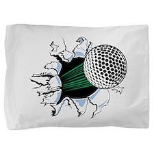 Golf Ball Burst Pillow Sham