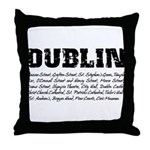 famous places Throw Pillow
