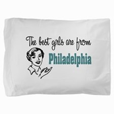 Best Girls Philadelphia Pillow Sham
