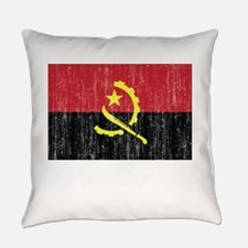 Flag of Angola DARK.png Everyday Pillow